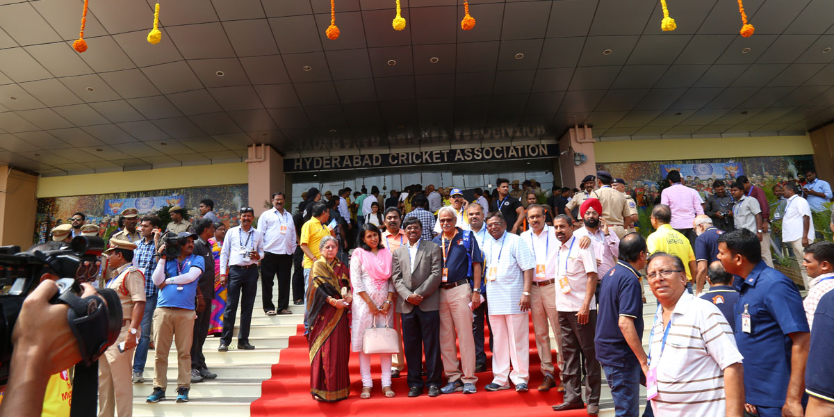 Hyderabad cricket Association -Daily Press Release
